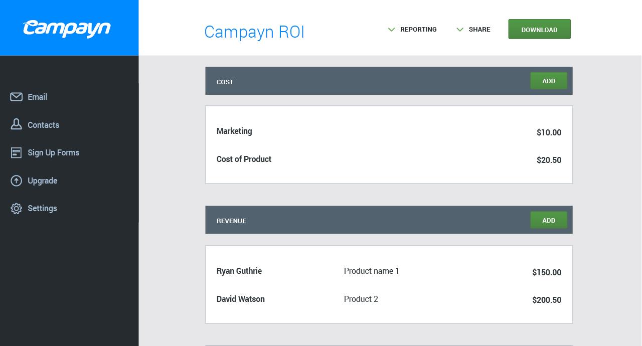 campyn email marketing tool