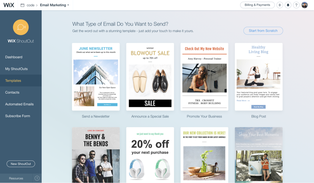 free email marrketing tools