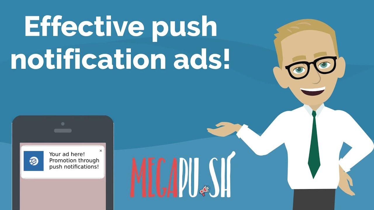push ads