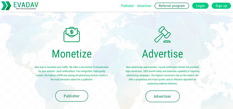 EvaDav is better than other ad networks