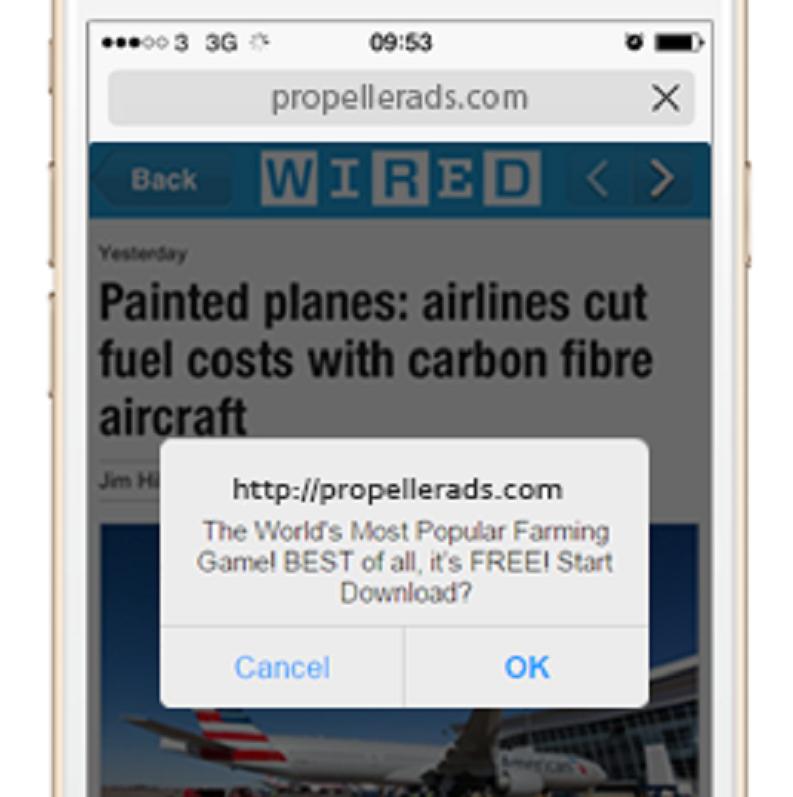 Mobile Dialog Ads