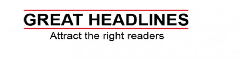catchy headlines