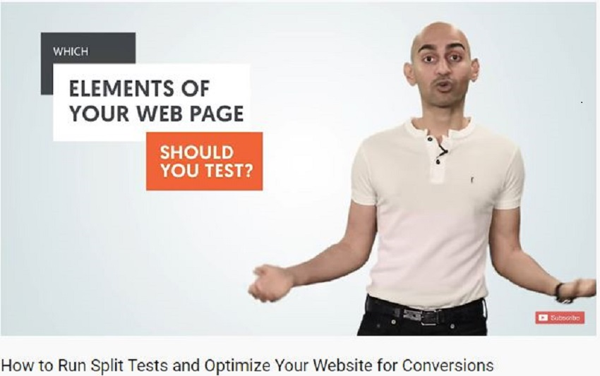 split test for website optimization