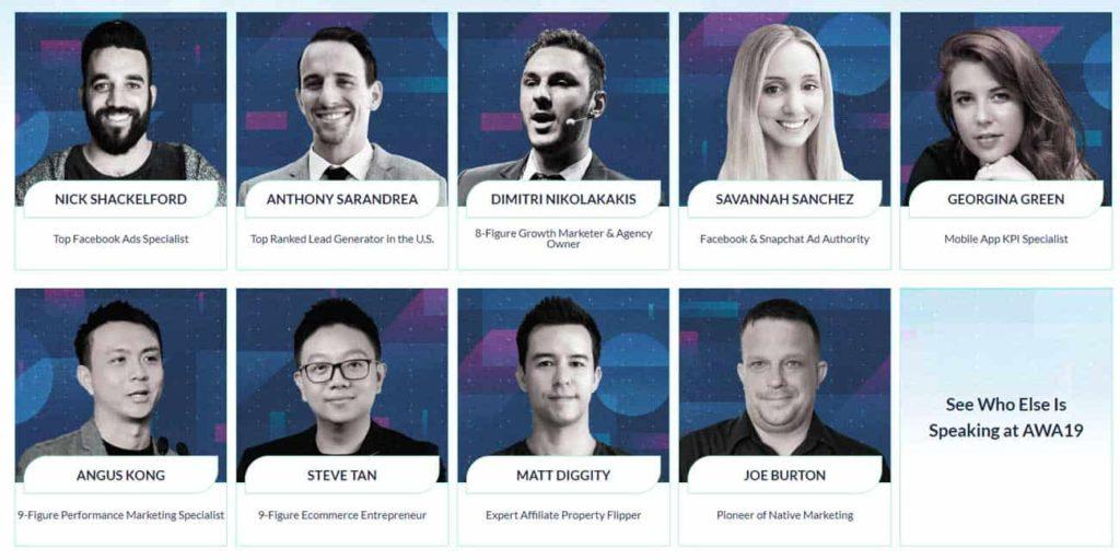 AWA Speakers 2019