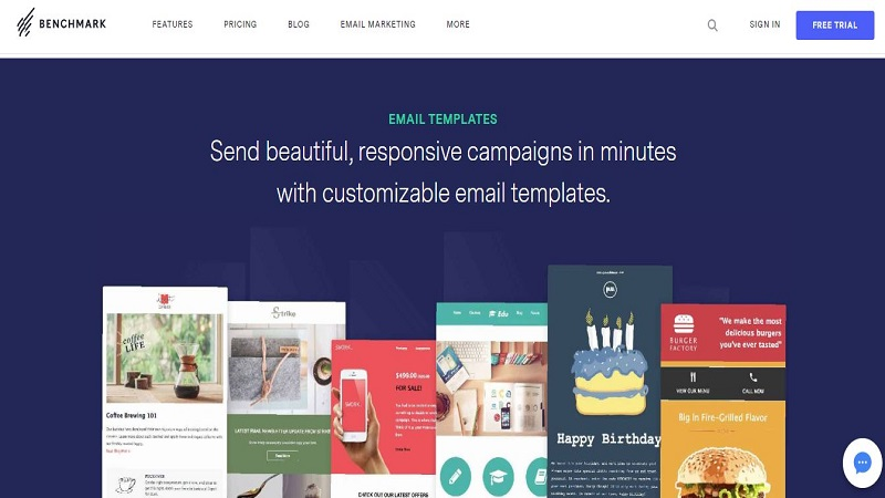 Benchmark- Email Marketing Software