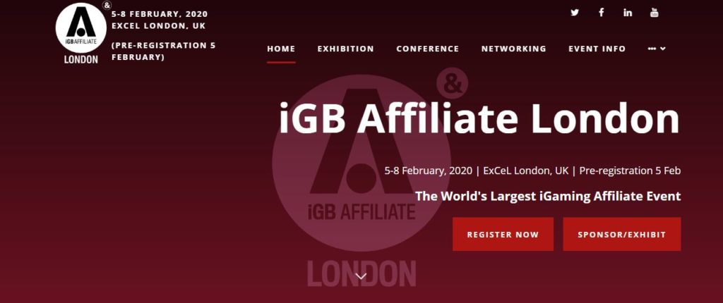 iGaming Affiliate events