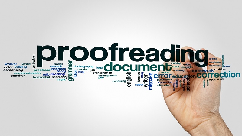 fluent Express proofreading