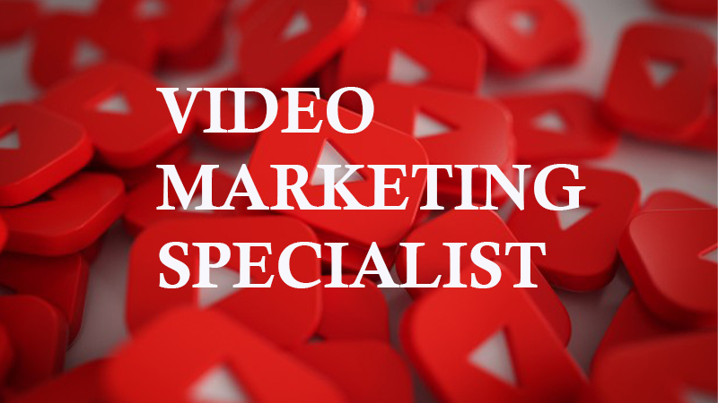 Video Marketing Job- Digital Marketing Job